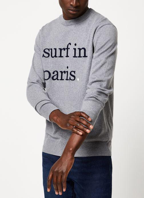Vêtements Cuisse de Grenouille KNIT - SURF IN PARIS F Gris vue droite