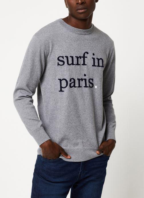 Vêtements Cuisse de Grenouille KNIT - SURF IN PARIS F Gris vue détail/paire