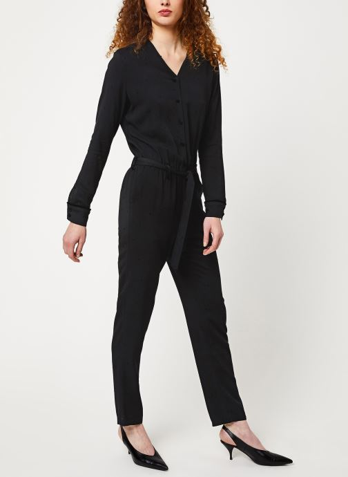 Vêtements Cuisse de Grenouille JUMPSUIT - LONG SLEEVES Noir vue bas / vue portée sac