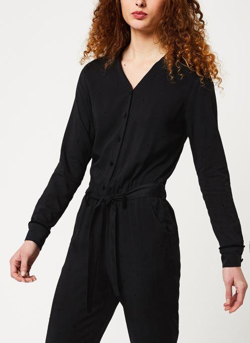 Vêtements Cuisse de Grenouille JUMPSUIT - LONG SLEEVES Noir vue droite