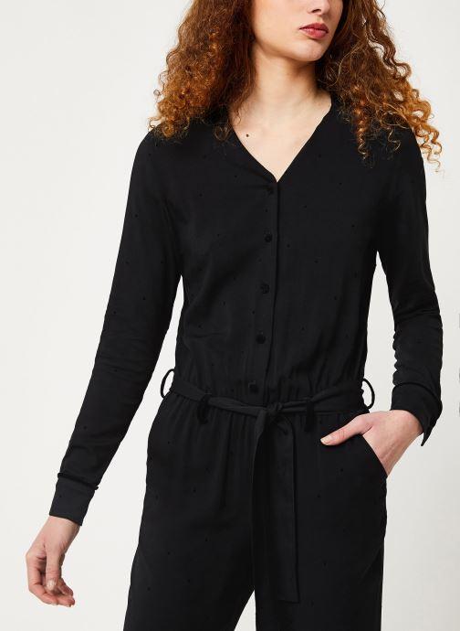 Vêtements Cuisse de Grenouille JUMPSUIT - LONG SLEEVES Noir vue détail/paire