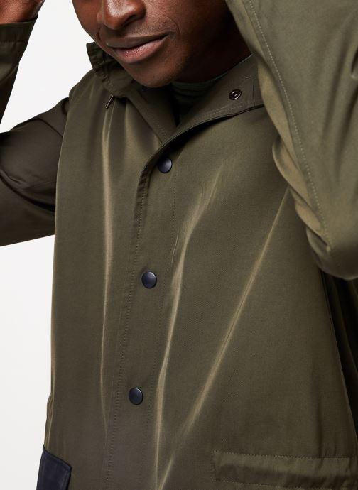 Vêtements Cuisse de Grenouille OUTERWEAR - THIN PARKA Vert vue face