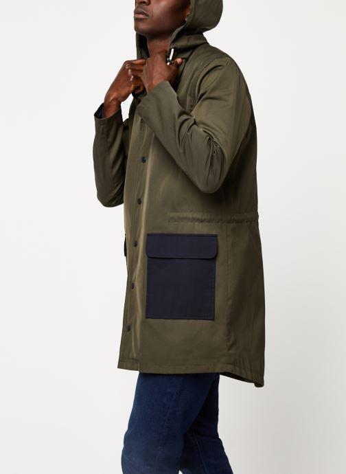 Vêtements Cuisse de Grenouille OUTERWEAR - THIN PARKA Vert vue droite