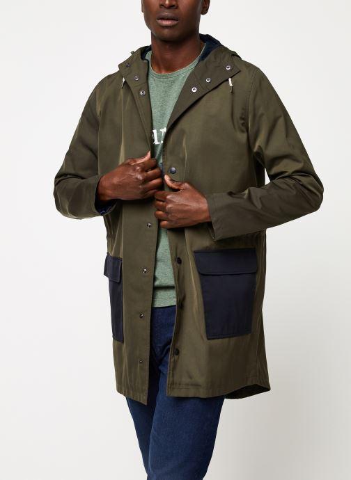Vêtements Cuisse de Grenouille OUTERWEAR - THIN PARKA Vert vue détail/paire