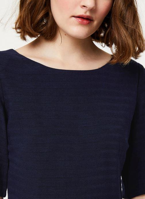 Vêtements Cuisse de Grenouille DRESS - V NECK BACK DRESS Bleu vue face