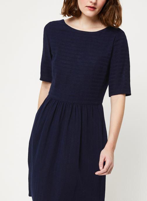 Vêtements Cuisse de Grenouille DRESS - V NECK BACK DRESS Bleu vue détail/paire