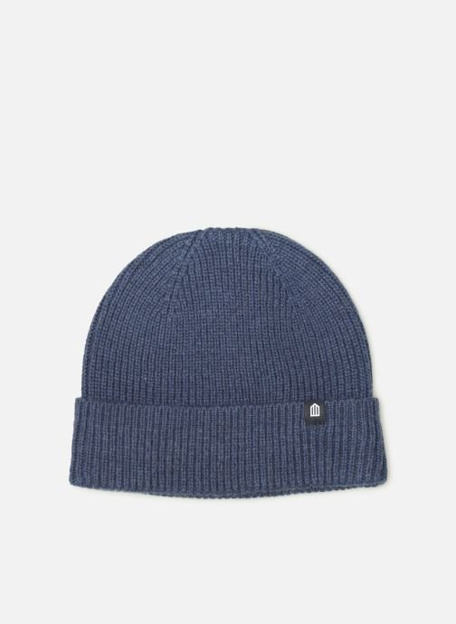 Beanie Cuisse de Grenouille KNIT - HAT Blue detailed view/ Pair view