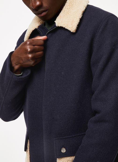 Vêtements Cuisse de Grenouille OUTERWEAR - ZIP COAT Bleu vue face