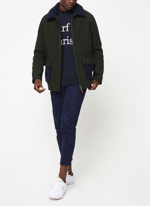Vêtements Cuisse de Grenouille OUTERWEAR - ZIP COAT Vert vue bas / vue portée sac