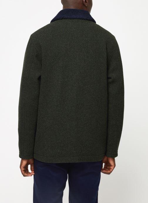 Vêtements Cuisse de Grenouille OUTERWEAR - ZIP COAT Vert vue portées chaussures