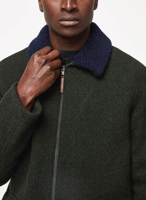 Vêtements Cuisse de Grenouille OUTERWEAR - ZIP COAT Vert vue face