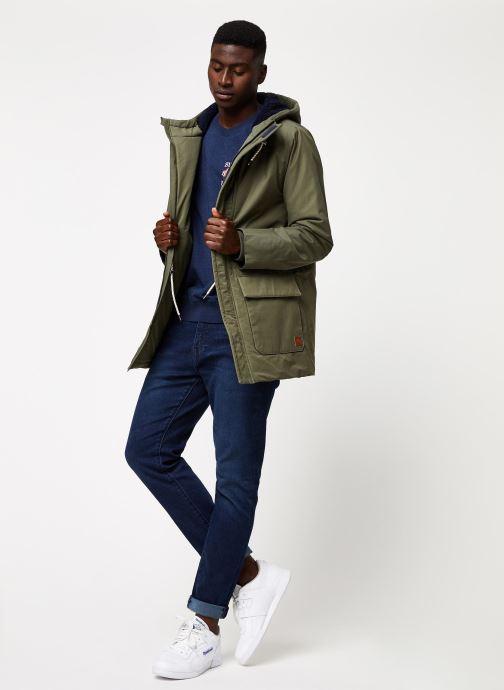 Vêtements Cuisse de Grenouille OUTERWEAR - PARKA 2 Vert vue bas / vue portée sac