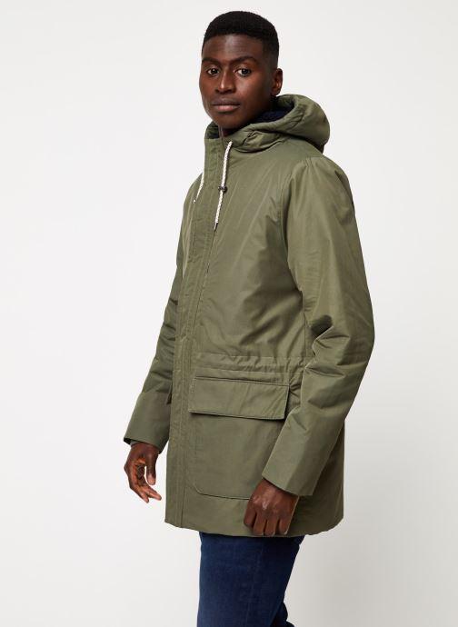 Vêtements Cuisse de Grenouille OUTERWEAR - PARKA 2 Vert vue droite