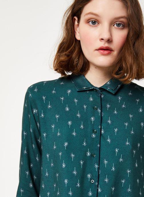 Vêtements Cuisse de Grenouille SHIRT - DOUBLE COLLAR Vert vue face