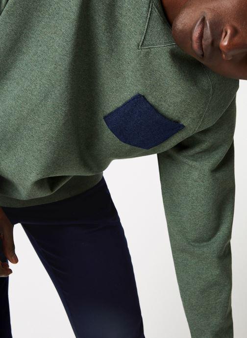 Vêtements Cuisse de Grenouille SWEATSHIRT - CHEST POCKET F Vert vue face