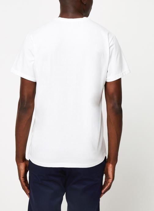 Vêtements Cuisse de Grenouille TEE-SHIRT - PRINT GALET F Blanc vue portées chaussures