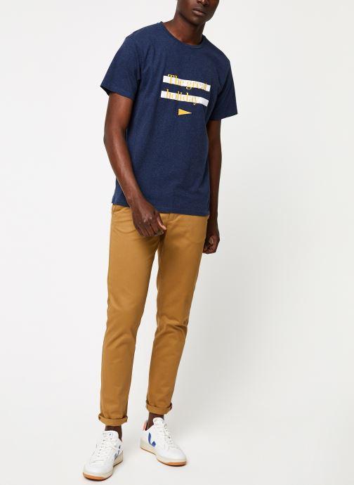Vêtements Cuisse de Grenouille TEE-SHIRT - THE GREAT HOLIDAY Bleu vue bas / vue portée sac