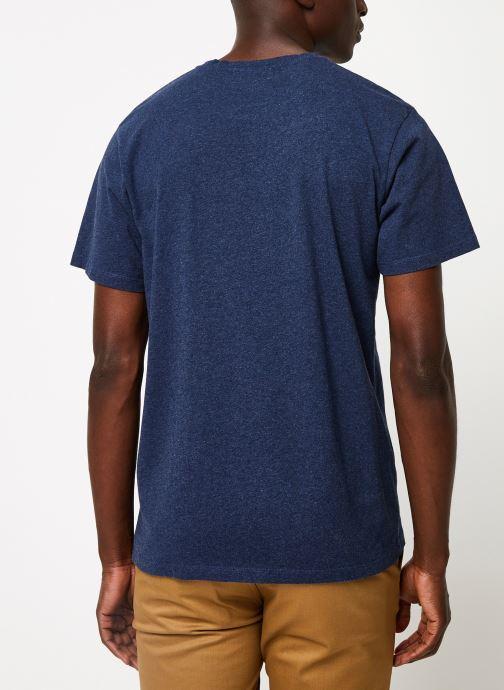 Vêtements Cuisse de Grenouille TEE-SHIRT - THE GREAT HOLIDAY Bleu vue portées chaussures