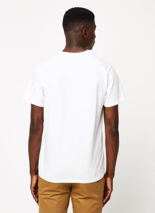 Vêtements Cuisse de Grenouille TEE-SHIRT - PRINT GANG F Blanc vue portées chaussures