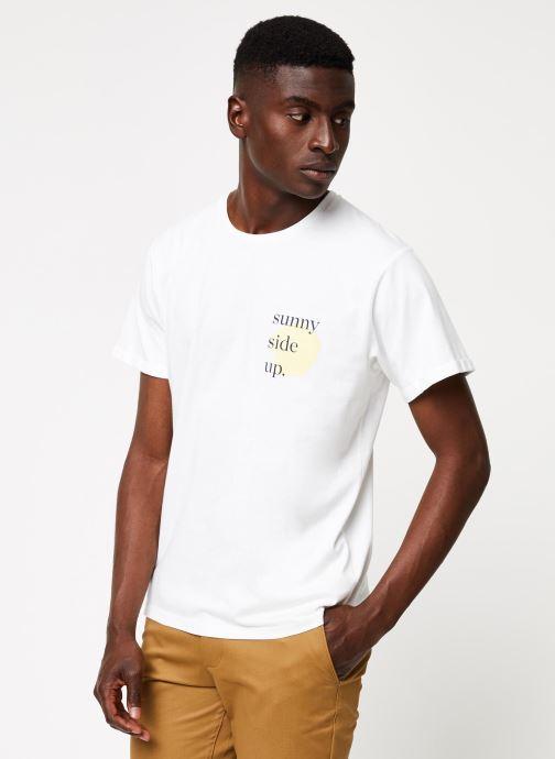 Vêtements Cuisse de Grenouille TEE-SHIRT - PRINT GANG F Blanc vue droite