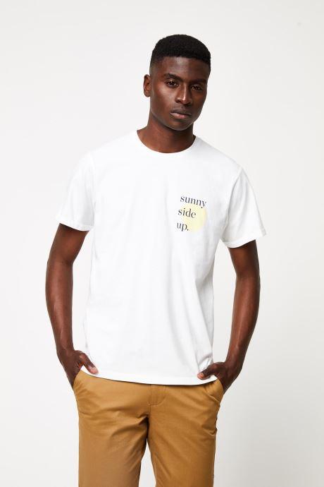 Vêtements Cuisse de Grenouille TEE-SHIRT - PRINT GANG F Blanc vue détail/paire