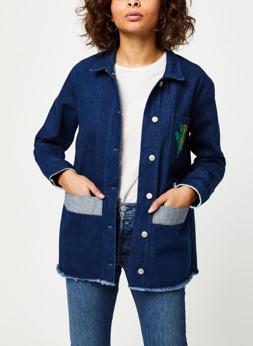 Kleding Cuisse de Grenouille JACKET - DENIM JACKET F Blauw detail