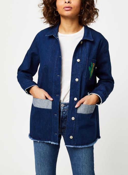 Vêtements Cuisse de Grenouille JACKET - DENIM JACKET F Bleu vue détail/paire
