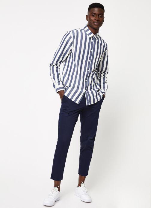 Vêtements Cuisse de Grenouille SHIRT - OVERSIZE SHIRT Noir vue bas / vue portée sac