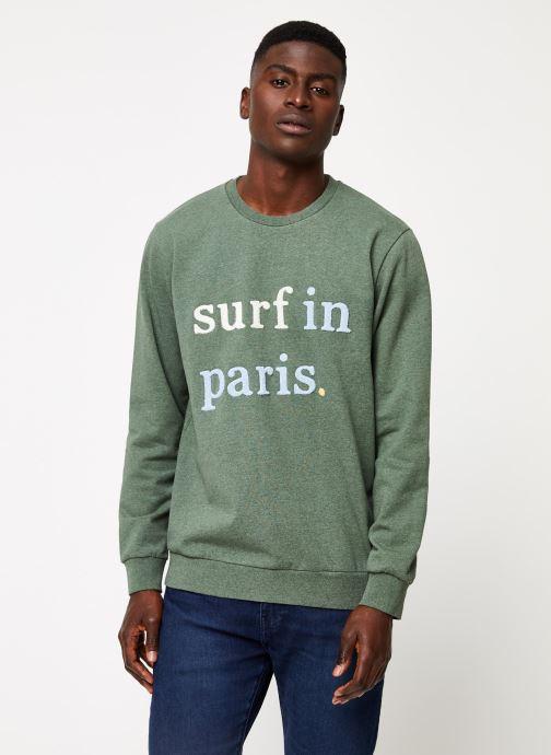Kleding Cuisse de Grenouille SWEATSHIRT - SURF IN PARIS F Groen rechts