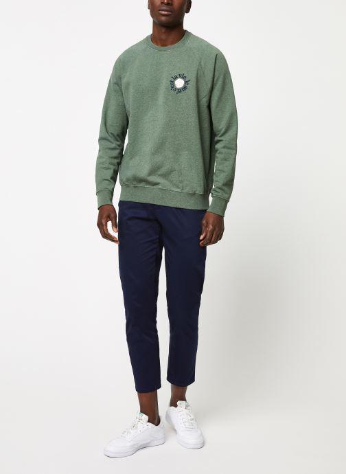 Vêtements Cuisse de Grenouille SWEATSHIRT - PRINT F Vert vue bas / vue portée sac