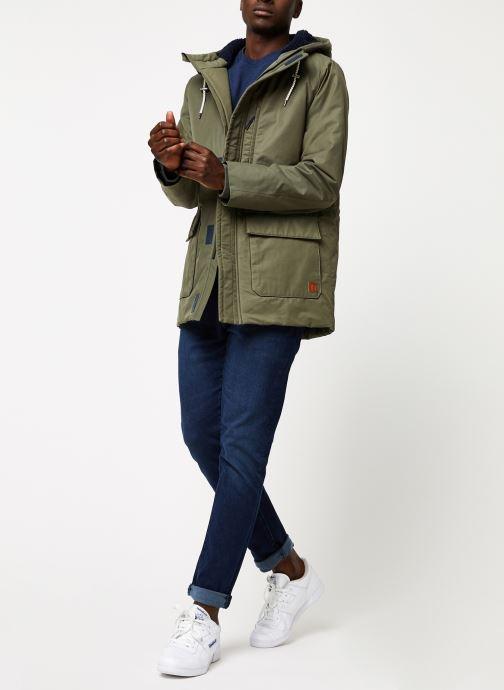 Vêtements Cuisse de Grenouille SWEATSHIRT - PRINT F Bleu vue bas / vue portée sac