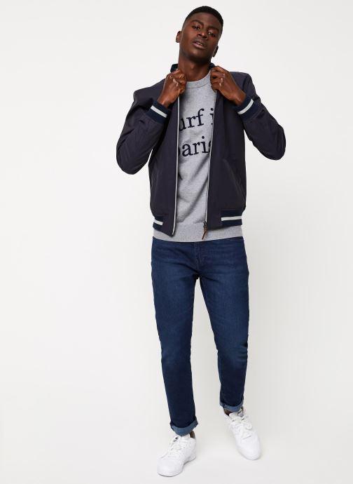 Vêtements Cuisse de Grenouille OUTERWEAR - TEDDY F Bleu vue bas / vue portée sac