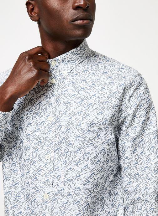 Vêtements Cuisse de Grenouille SHIRT - BUTTON DOWN F Gris vue face