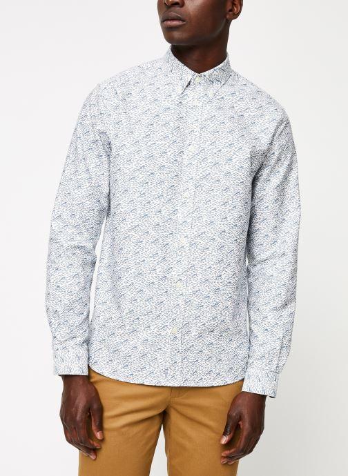 Vêtements Cuisse de Grenouille SHIRT - BUTTON DOWN F Gris vue droite