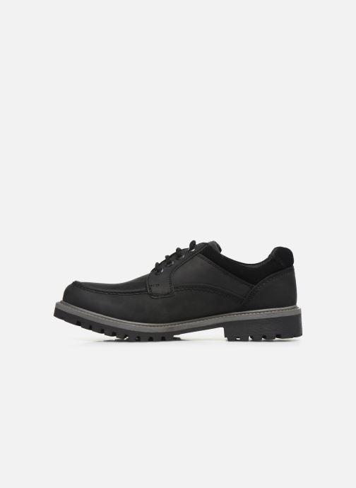 Chaussures à lacets Roadsign Genek Noir vue face