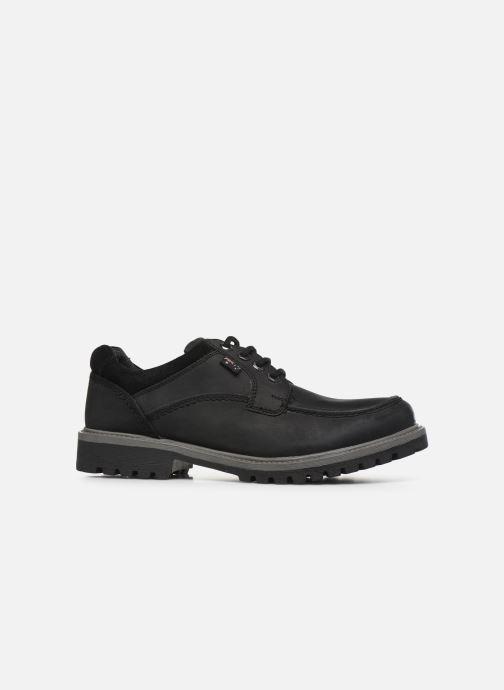 Chaussures à lacets Roadsign Genek Noir vue derrière