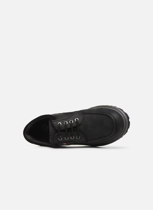 Chaussures à lacets Roadsign Genek Noir vue gauche
