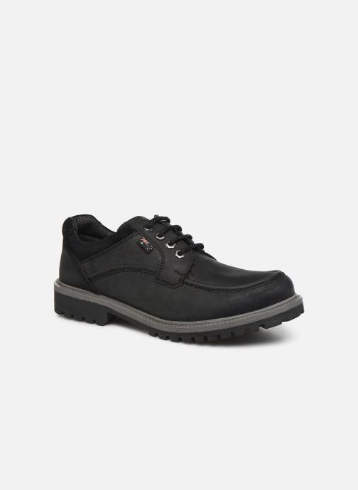 Chaussures à lacets Roadsign Genek Noir vue détail/paire