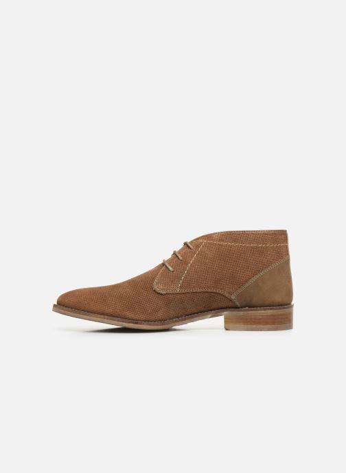 Boots en enkellaarsjes Roadsign Girun Bruin voorkant