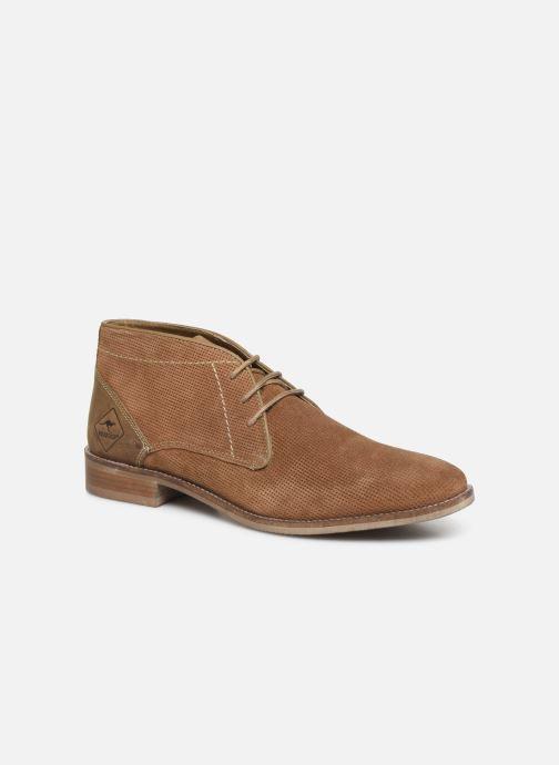 Boots en enkellaarsjes Roadsign Girun Bruin detail