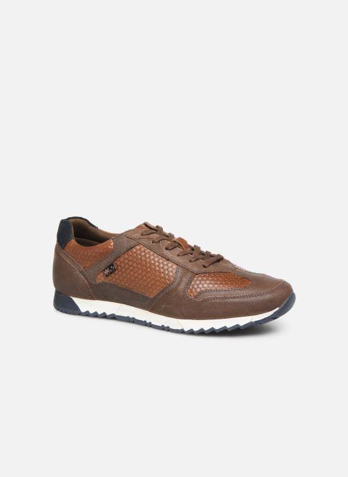 Sneakers Roadsign Gister Bruin detail