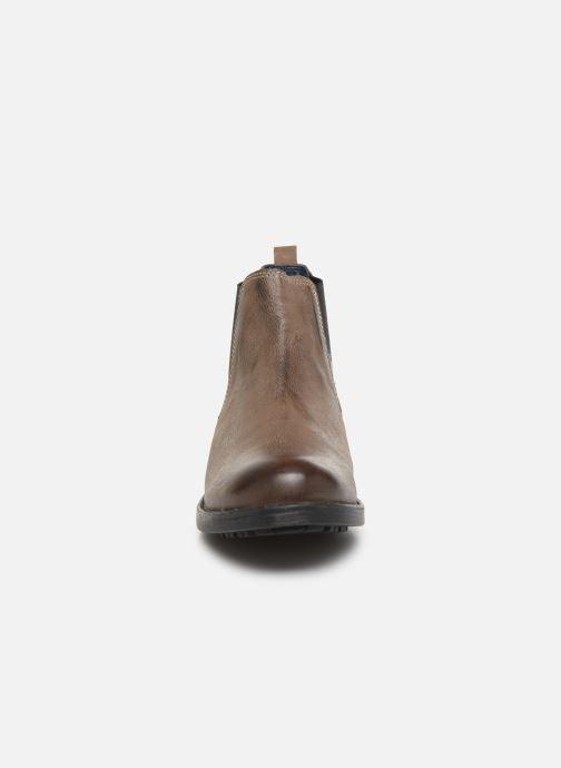Bottines et boots Roadsign Loup Marron vue portées chaussures