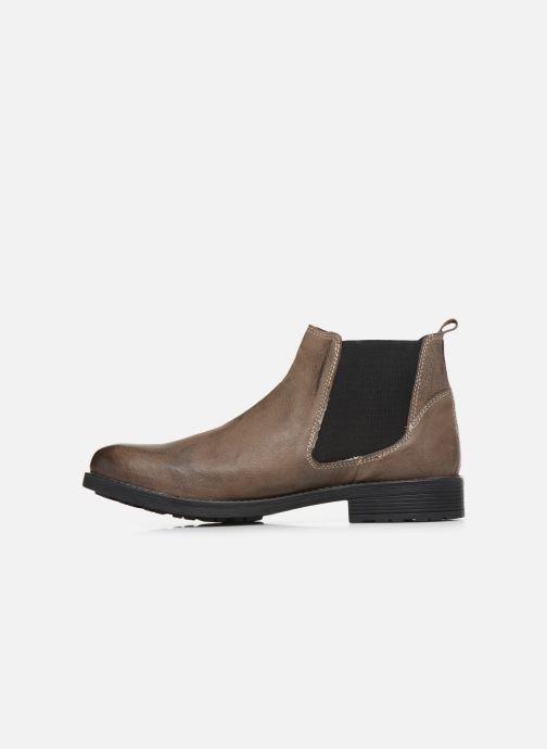 Bottines et boots Roadsign Loup Marron vue face