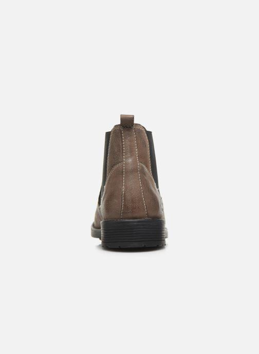 Bottines et boots Roadsign Loup Marron vue droite