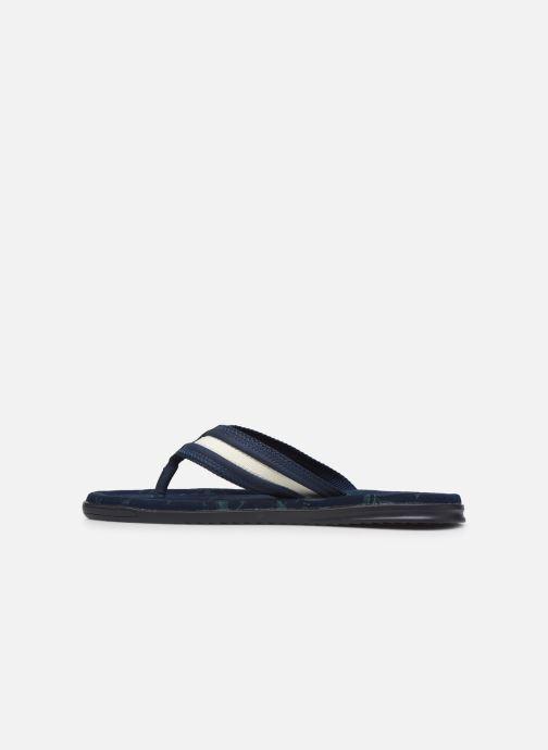 Flip flops Roadsign Opali Blue front view