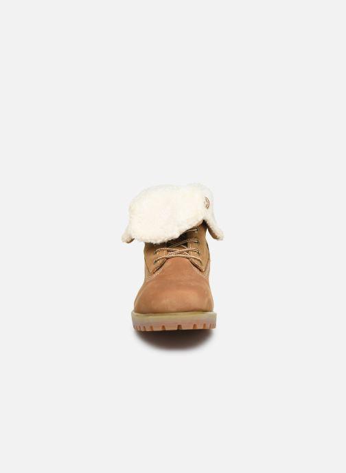 Bottines et boots Roadsign Rallye Marron vue portées chaussures