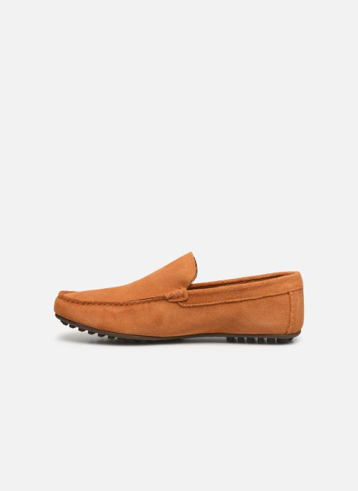 Mocasines Marvin&Co Sulliver Naranja vista de frente