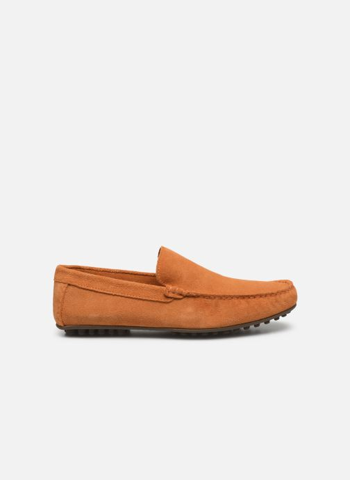 Mocasines Marvin&Co Sulliver Naranja vistra trasera