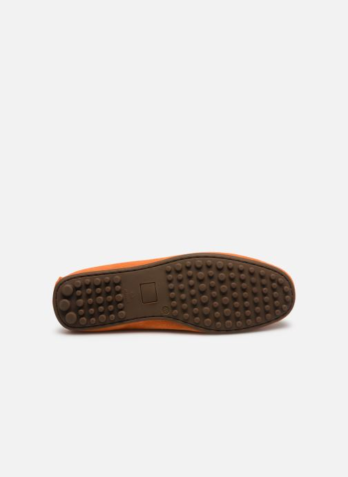 Mocasines Marvin&Co Sulliver Naranja vista de arriba