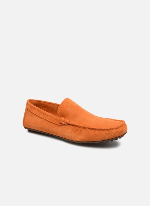 Mocassins Marvin&Co Sulliver Orange vue détail/paire